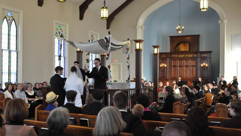 Messianic Jewish Wedding Service